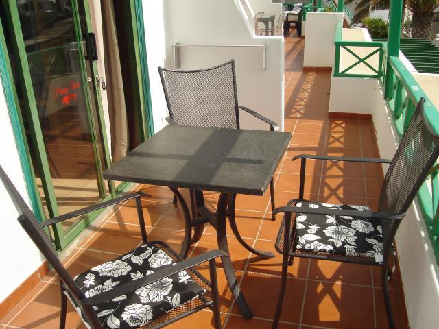 Terrace - Playa Park Apartment, Puerto del Carmen, Lanzarote